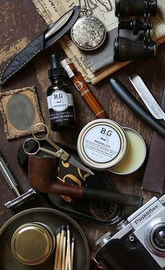 Men's essentials by Brooklyn Grooming -Beard Oil -Classic Beard Balm -Beard Comb