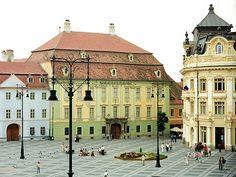 Sibiu, Romania near Octavian's hometown. Places To Travel, Places To See, Sibiu Romania, Eastern Europe, Croatia, Beautiful Places, Google, 8 Days, National Museum