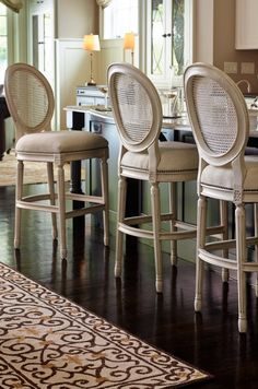 Frontgate loves to raise the bar.... (and the Ludlow Bar Stool is the perfect case in point)