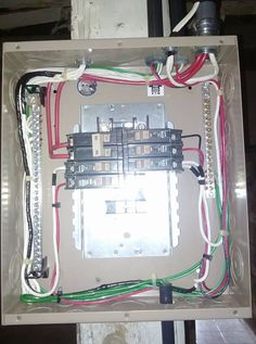 How to add more electrical circuits do it yourself sub panel principal board solutioingenieria Image collections