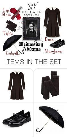 DIY Wednesday Addams Costume