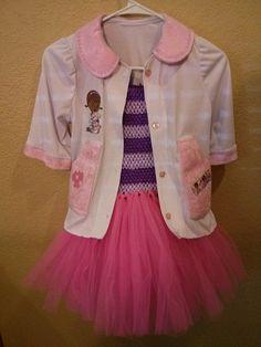Doc McStuffins Tutu Dress Coat & matching by UniqueBoutique4BeBe, $35.00