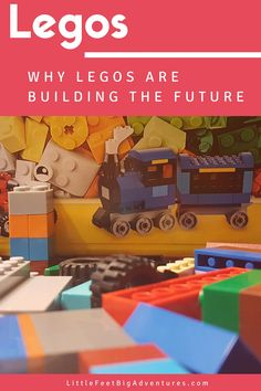 Lego's are great! They help increase a child's knowledge and skills to be innovative and imaginative. That's why Legos are building the future.