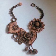 Crochet jewelry. Comments: LiveInternet - Russian Service Online Diaries