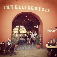 Intelligentsia Coffee & Tea in Los Angeles, CA Great coffee! Also have locations in Venice and Pasadena.