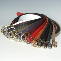 Soft Leather Belts by