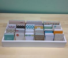 Journaling Card Caddy - Large