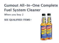 $10 Cash Rebate Gumout Fuel Cleaner    FREE CASH on Auto Parts