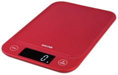 Buy Salter Slim Kitchen Scale - Red at Argos. Thousands of products for same day delivery or fast store collection. Electronic Kitchen Scales, Kitchen Electronics, Imperial To Metric Conversion, Metric Measurements, Red Kitchen, Argos, Cleaning, Slim, Garden