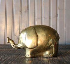 Brass Elephant / Buffalo Winter