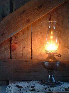 Oil lamp - miracle worker - lighting
