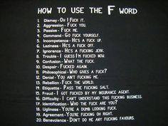 F word