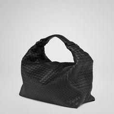 Bottega VenetaNero Intrecciato Light Calf Sloane Bag