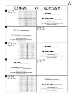 1000 images about teaching unit 2 systems of equations on pinterest systems of equations. Black Bedroom Furniture Sets. Home Design Ideas