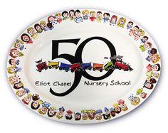 50 Anniversary platter for fundraiser
