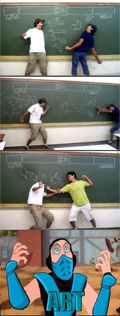Fight ! | issyparis ➦ http://www.diverint.com/imagenes-humor-nueva-opcion-pago-organos-humanos