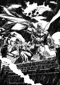 Batman and Riddler by Jason Fabok