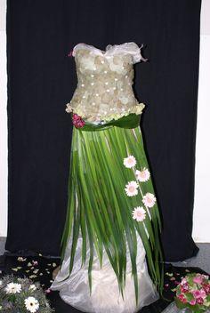 plantaardige jurk