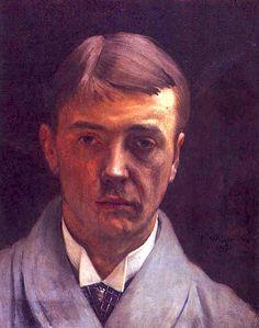 FELIX VALLOTTON Self-Portrait