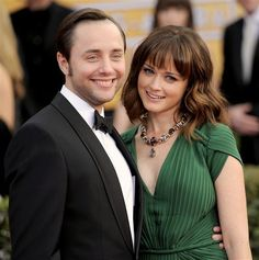 Alexis Bledel married Mad Men co-star Vincent Kartheiser - Alexis Bledel: 10 things you don't know (but should!) about the 'Gilmore Girls' star