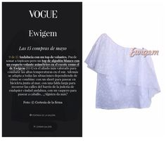 VOGUE vuelve a recomendar Ewigem entre las 15 compras del mes de Mayo. http://www.vogue.es/moda/dress-for-less/galerias/las-15-compras-del-mes-de-mayo-en-clave-dress-for-less/10813