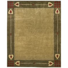 Stickley Rugs - Highland Park - Green