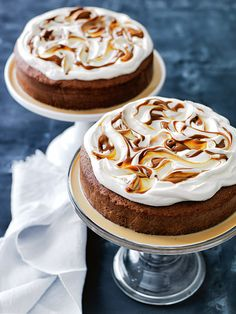 caramel three-milk cake