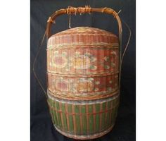 Chinese 3 tier Wedding Basket - usually use for dowry