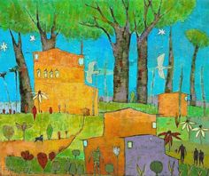 Peaceful landscapes, elaborate seascapes, sloping homes and gentle animals — this is the colorful work of local artist Jane Filer. See her latest paintings, and meet Filer in person, at the Opening Reception for her solo exhibition at Tyndall Galleries in University Mall on April 20, 2012 from 7 pm – 9 pm. http://www.chapelhillrecorder.com/filerpaintings/