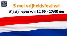 VRIJHEIDSFESTIVAL IN ENSCHEDE  Donderdag 5 mei (creatieve) workshops, kinderactiviteiten en muziekoptredens in de zijstraat van de Haverstraatpassage de Oude Markt.  Onze winkels zijn open van 12:00 - 17:00 uur.  (afhankelijk per winkelier). #Haverstraatpassage #Enschede (centrum).