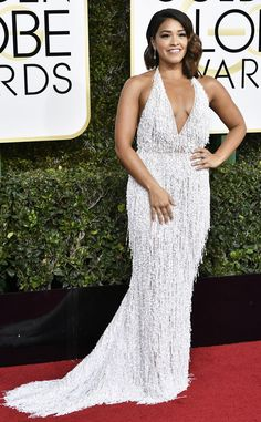 Gina Rodriguez from Best Dressed at Golden Globes 2017  The Jane the Virgin star came out to stun!