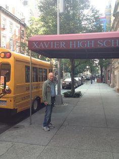 Professor X visits Xavier High School