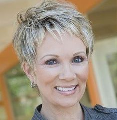 Hairstyles For Older Women With Fine Hair Entrancing Fine Hair Pixie For Mature Ladies  Older Women Hairstyles