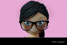 """""""Emi"""" by Guillaume Pinto, 3D Graphic / Motion designer http://gp2097.free.fr"""