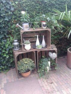 Weinkisten Regal | Living | Pinterest | Crates, Wine and ...