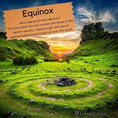 #Equinox - #NerdsWhoLoveWords #WordOfTheDay. Photo by #RobertLukeman on #Unsplash. #Noun [ee-kwuh-noks ek-wuh-] Definition: The time when the sun crosses the plane of the earth's equator making night and day of approximately equal length all over the earth. #Words #wordsOfInstagram #wordstagram #language #LanguageLover #EnglishLanguage #WordsMatter #WriterThings #WordLover #English #Words #WordNerd #englishVocabulary #SpringSeasn #SpringThings #SpringIsInTheAir Sorry for the delay it sounds…