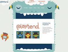 Web 3.0 web site design: playtend.com