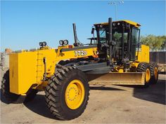 Our featured Motor Grader is a 2008 John Deere 772D, 3,117 Hrs., Cab, Heat, A/C, 14' Blade, Ripper, Push Block, 17.5 Tires. Check out our great selection of John Deere Motor Graders! You can view them all at: http://www.rockanddirt.com/equipment-for-sale/JOHN-DEERE/motor-graders
