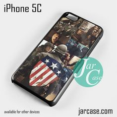 Captain America First Avenger Phone case for iPhone 5C and other iPhone devices