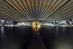"""In the Spatial Station of Oriente by Carlos Silva """"Avlisilva"""" on Alone Time, Opera House, Like4like, World, Building, Travel, Lonely, Big, Photography"""