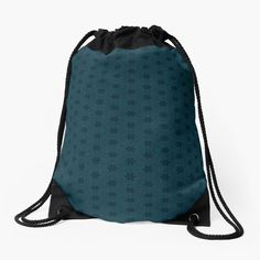"""""""Midnight blue lovers - Dark blue lovers -"""" Drawstring Bag by ASO108108 