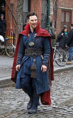 Doctor Strange filming in NYC