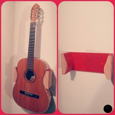 Gitarrenwandhalterung