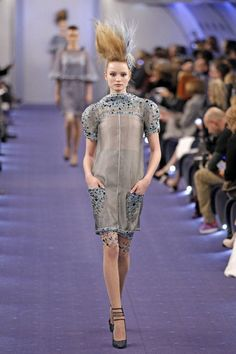 Chanel Spring 2012 .. I love fashion but sometimes I dont understand??