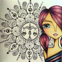 Girl Drawings, Painted Clothes, Art Journal Inspiration, Iphone Wallpaper, Pop Art, Zodiac, Cactus, Meditation, Yoga
