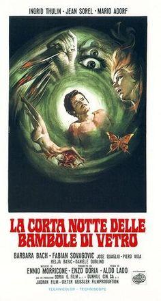 """La corta notte delle bambole di vetro (Aldo Lado, 1972, """"The Short Night of Glass Dolls,"""" A. K. A. Paralyzed)"""