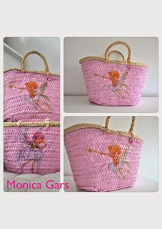 Manualidades, patchword, muñecos de tela, capazos, bolsos de palma, hecho a mano, bolsos hechos a mano