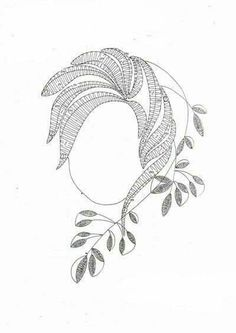 Lace Patterns, Embroidery Patterns, Lacemaking, Bobbin Lace, Wood Art, Zentangle, Tatting, Portrait, Diy And Crafts