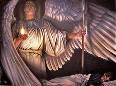 angel warriors of God | Sleep well tonight, child. Your guardian angel will protect you...""