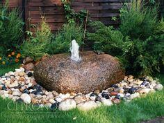 element fontanny  Kamień fontannowy - wiercony FON-1E zdjęcie przykładowe  fot. 1